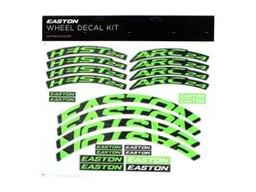Easton Arc/Heist Wheel Decal Kit Green