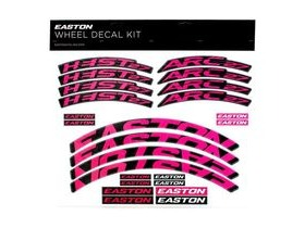 Easton Arc/Heist Wheel Decal Kit Magenta
