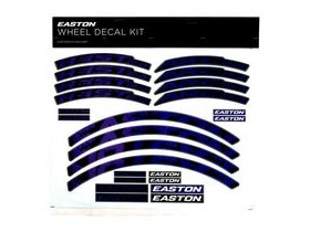 Easton Arc/Heist Wheel Decal Kit Purple