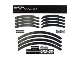Easton Arc/Heist Wheel Decal Kit Black