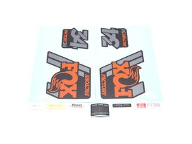 Fox Decal Kit 34 Factory Series 2018 Black