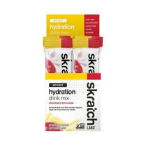 Skratch Labs Sport Hydration Mix - Box of 20 Servings - Strawberry Lemonade