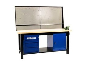 BiciSupport Workbench 2 MTR With Hooks For Tools