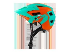 O'Neal Defender 2 Helmet Orange/Teal