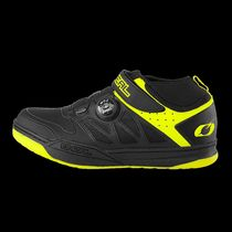 O'Neal Session SPD Shoe Black/Neon Yellow