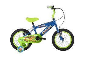 "Bumper Ooze 20"" Junior Bike Black/Green"
