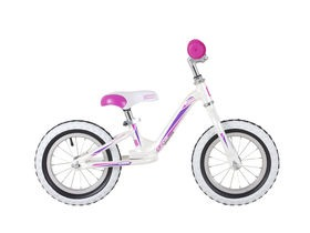 Cuda Blox Runner F12 Balance Bike White
