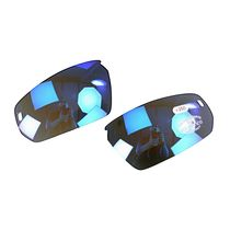BZ Optics Pho Replacement Lenses Bi-Focal lenses ONLY for Pho model Blue Mirror +2.00