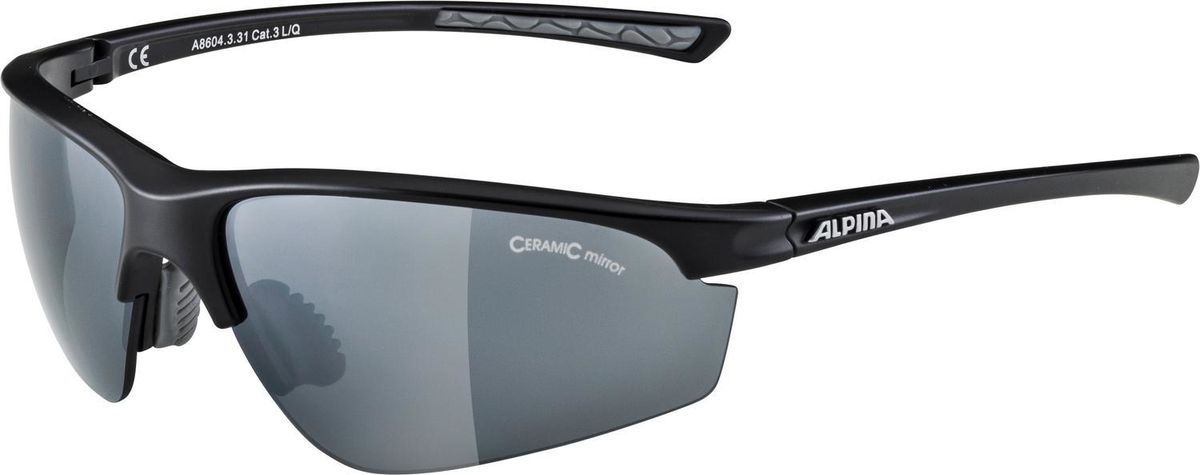 Alpina Tri Effect 2.0 Bicycle Cycle Bike Glasses Black