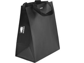 Clarijs Single inner sleeve shopping bag to fit Clarijs pannier, Matt black