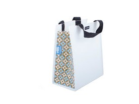 Clarijs Single inner sleeve shopping bag to fit Clarijs pannier, retro pattern