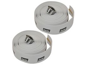 ISM White Bar Tape (with black logo)