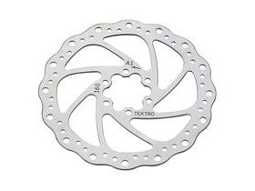 Tektro Disc Brake Rotor 180mm Wave