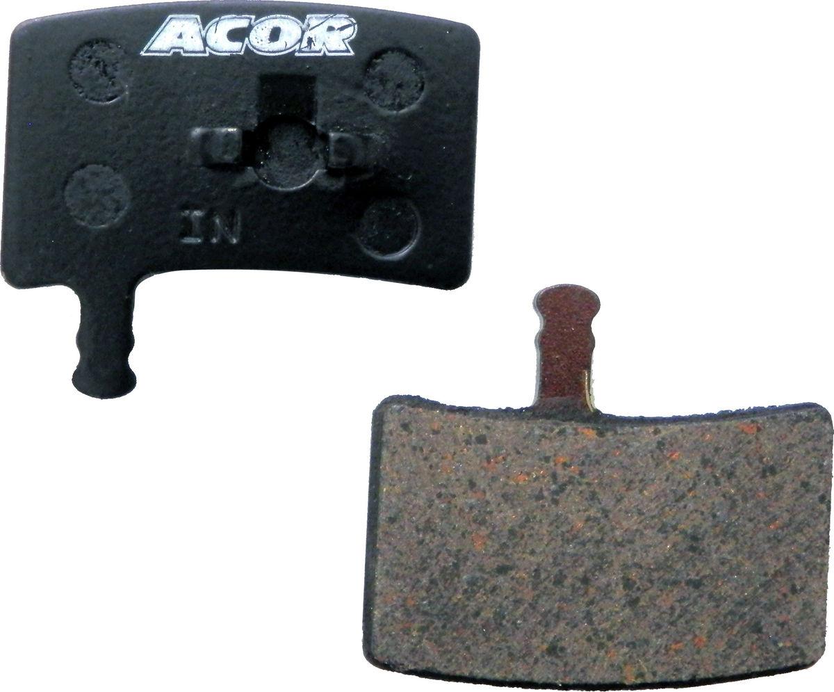 Acor Organic Disc Brake Pads Bike MTB Cycle 2 Piece Set 1 Pair