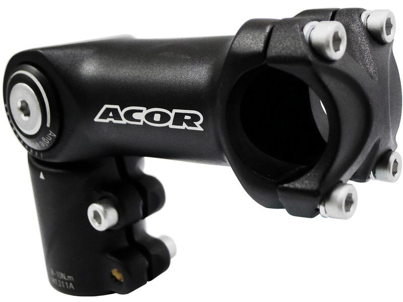"Acor 1.1/8"" Adjustable High Fit Ahead Stem 25.4mm bars click to zoom image"