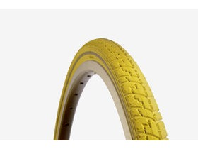 Dutch Perfect SRI 27 700c Reflex Tyre: Yellow 38mm