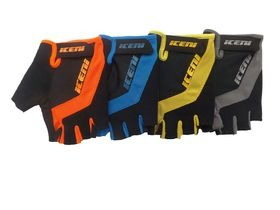 Iceni Cycling Mitts Yellow