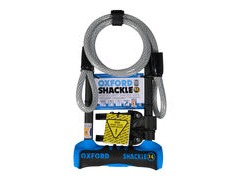 Oxford Shackle 14 DUO U-Lock 320mm with 1200 x 12mm Cable