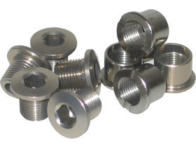 Stronglight Chainring Bolts Set of 5 Single
