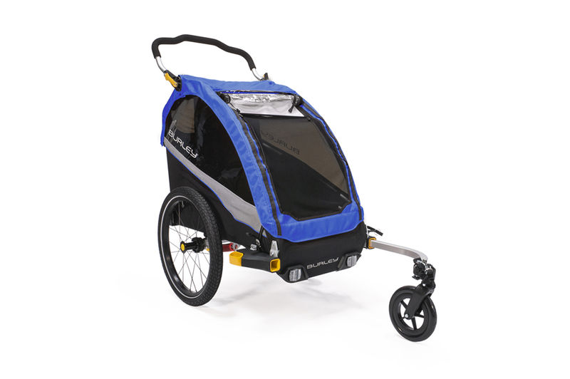 Burley D'Lite Single Bike Trailer click to zoom image