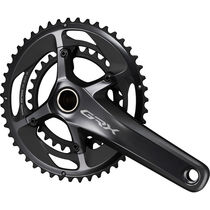 Shimano GRX FC-RX810 GRX chainset 48 / 31, double, 11-speed, Hollowtech II, 172.5 mm