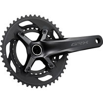 Shimano GRX FC-RX600 GRX chainset 46 / 30, double, 10-speed, 2 piece design, 165 mm