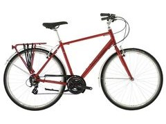 "Raleigh Pioneer 2 Crossbar 23"" Red  click to zoom image"