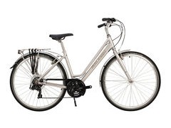 "Raleigh Pioneer Low Step 21"" Silver  click to zoom image"