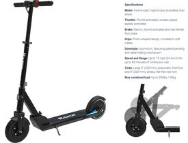 Razor E Prime Air Folding Electric Scooter
