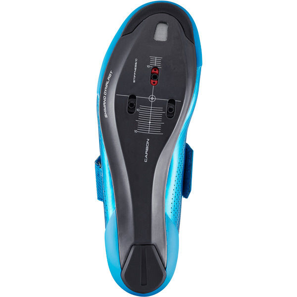 blue Shimano TR9 SPD-SL shoes size 40