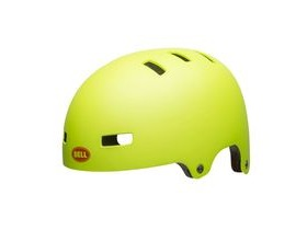 Bell Span Youth Helmet 2019: Matte Bright Green