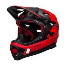 Bell Super Dh Mips MTB Helmet Fasthouse Matte Red/Black