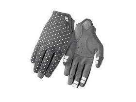Giro La Dnd Women's MTB Cycling Gloves Dark Shadow/White Dots