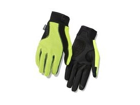 Giro Blaze 2.0 Glove Water Resistant Windbloc Cycling Gloves Highlight Yellow/Black