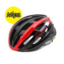 Giro Foray Mips Road Helmet Bright Red/White/Black