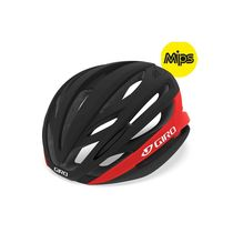 Giro Syntax Mips Road Helmet Matte Black/Bright Red