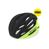Giro Syntax Mips Road Helmet Highlight Yellow/Black