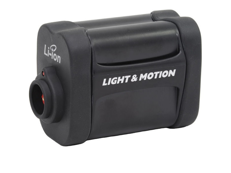 Light and Motion 11.1v 6-cell Li-ion battery pack click to zoom image
