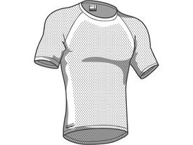 Madison Isoler Mesh Mens Short Sleeve Baselayer