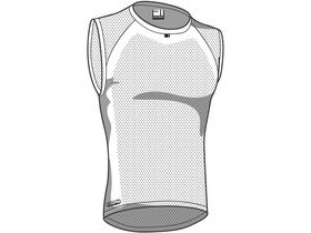 Madison Isoler Mesh Mens Sleeveless Baselayer