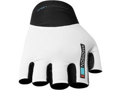 Madison Road Race Mens Mitts Black Small Small White / Orange  click to zoom image
