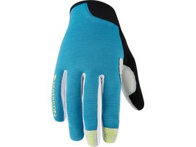Madison Leia women's gloves, caribbean blue