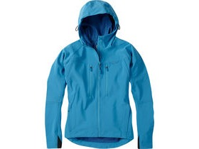 Madison Zena women's softshell jacket, caribbean blue