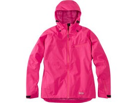 Madison Leia women's waterproof jacket, rose red