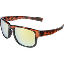 Madison Range glasses - gloss tortoiseshell over matt black frame, bronze mirror lens