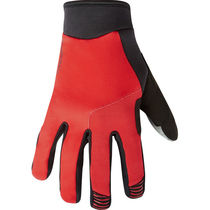Madison Flux men's gloves, true red