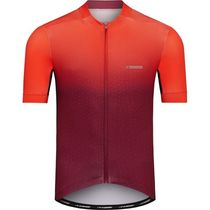 Madison Sportive men's short sleeve jersey, classy burgundy / chilli red