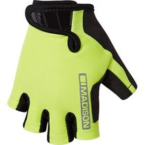 Madison Tracker kid's mitts, lime punch